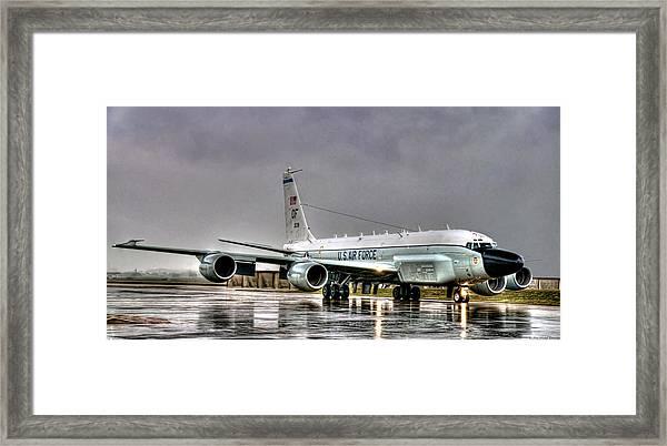 Rc-135 Rivet Joint Framed Print
