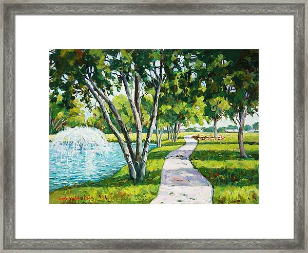 Rcc Golf Course Framed Print