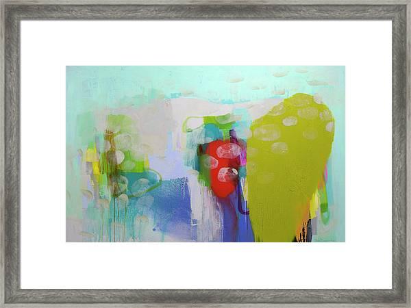 Re-emerging Framed Print