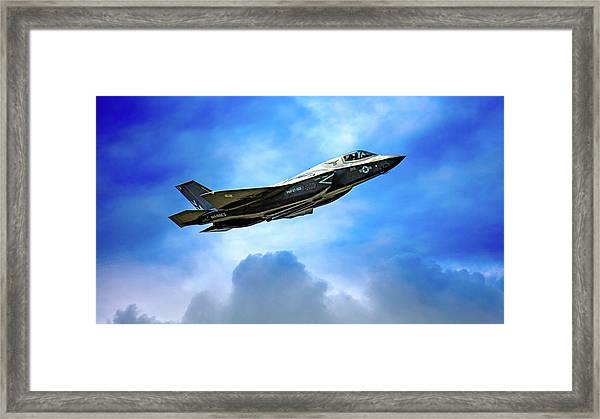 Reach For The Skies Framed Print