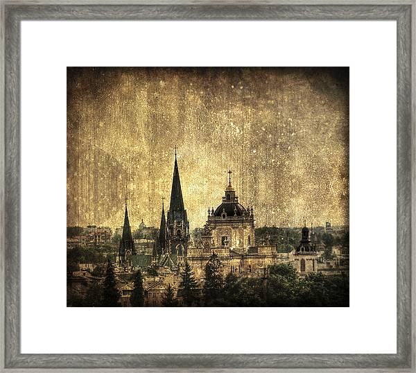 Reach Out Framed Print