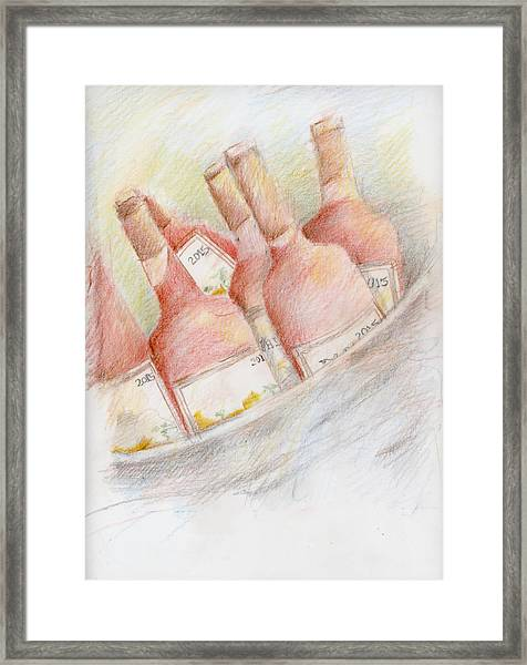 Ready For Tasting Framed Print