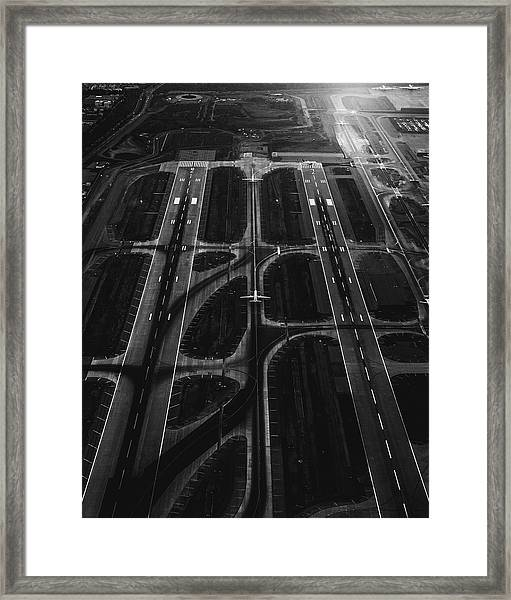 Ready For A Take Off  Framed Print