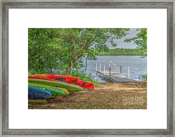 Ready For Summer Framed Print