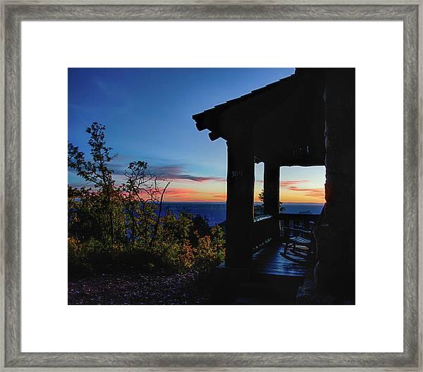Ready For Sunset Framed Print