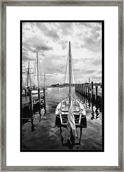 Ready To Set Sail Framed Print