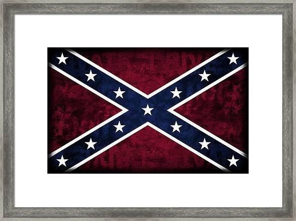 Confederate Flag Framed Art Prints Fine Art America