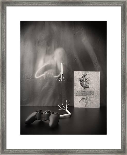 Rebel Heart Framed Print
