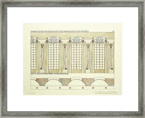 Reception And Music Room Framed Print