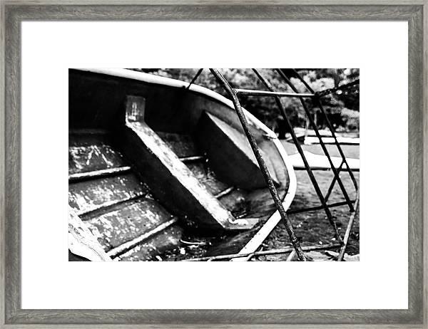 Reckage Framed Print