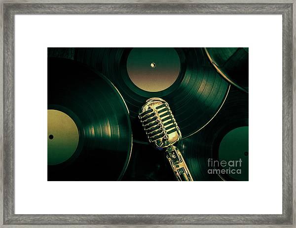 Recording Studio Art Framed Print