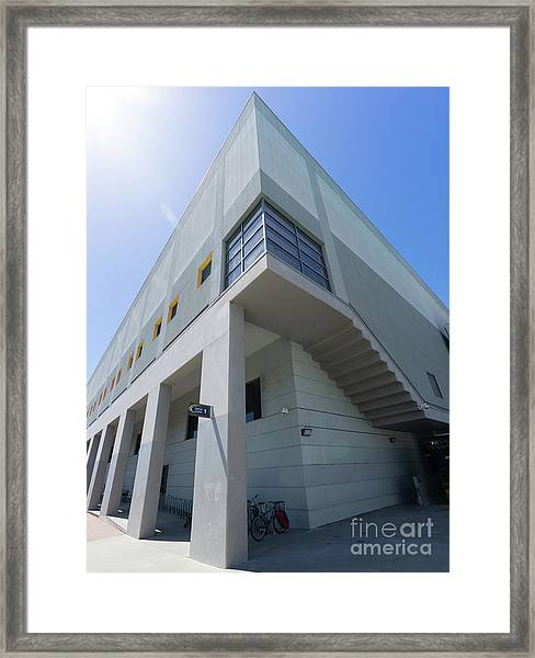Recreational Sports Facility At University Of California Berkeley Dsc6310 Framed Print