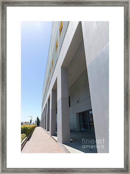 Recreational Sports Facility At University Of California Berkeley Dsc6311 Framed Print