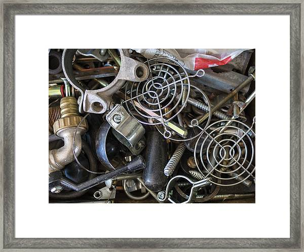 Recycle Metal Framed Print