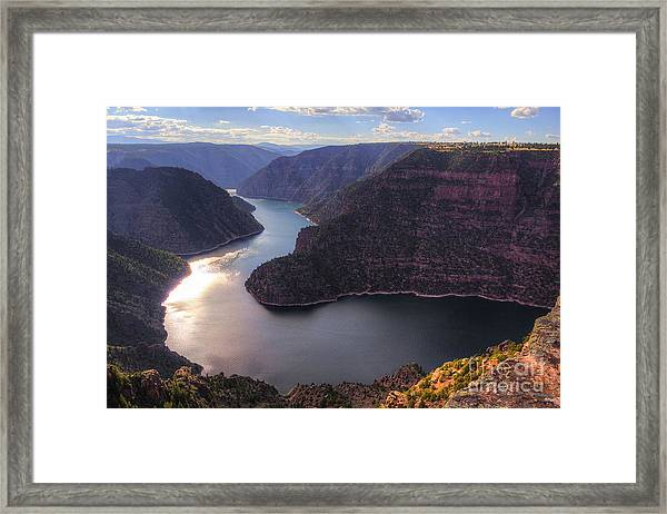 Red Canyon Framed Print