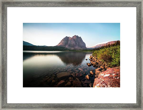 Red Castle Mountain Utah Framed Print