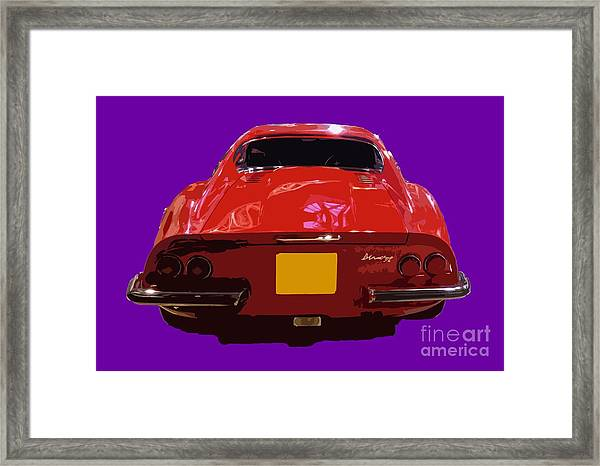 Red Classic Emd Framed Print