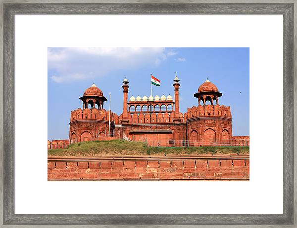 Red Fort New Delhi Framed Print