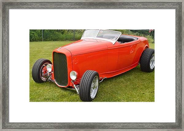 Red Hot Rod Framed Print