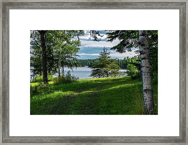 Red Lake Ontario 2 Framed Print
