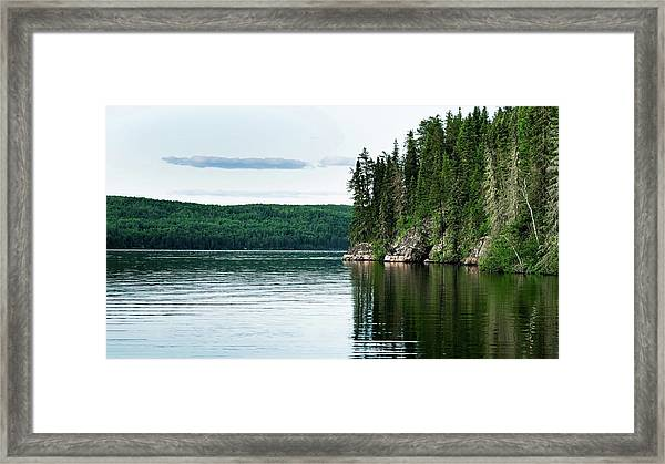 Red Lake Ontario Framed Print