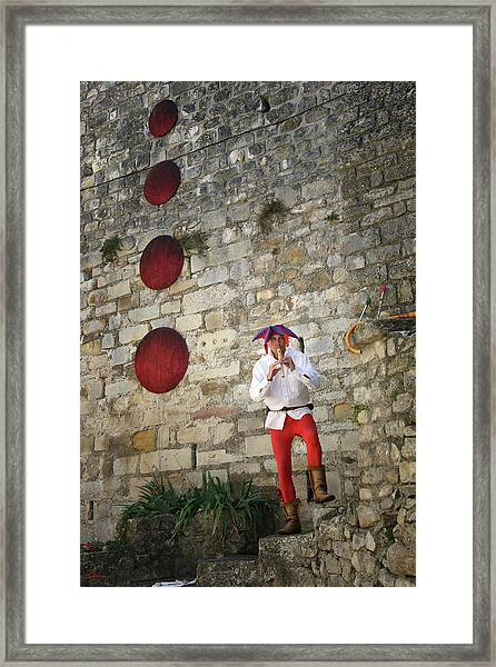 Red Piper Framed Print