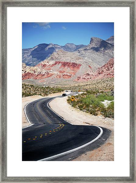 Red Rock Canyon 2 Framed Print