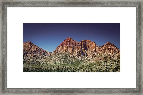 Red Rock Canyon #20 Framed Print
