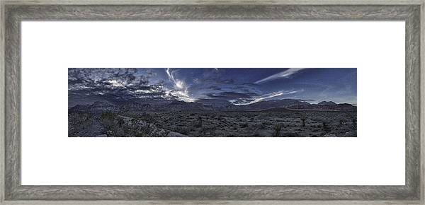 Red Rock Canyon State Park Framed Print