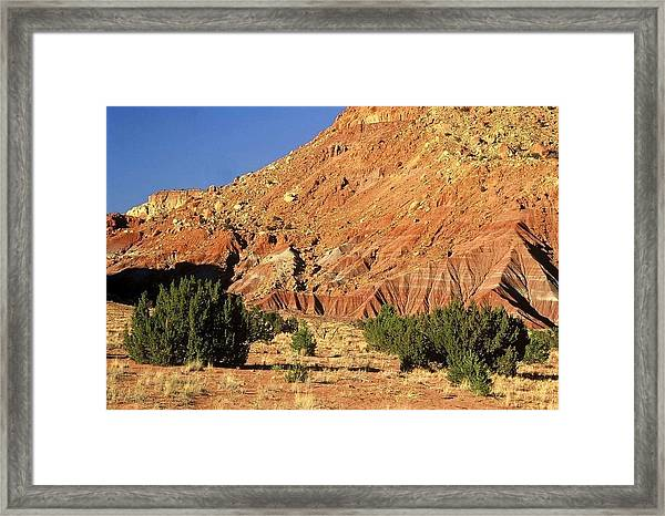 Red Rock New Mexico Framed Print