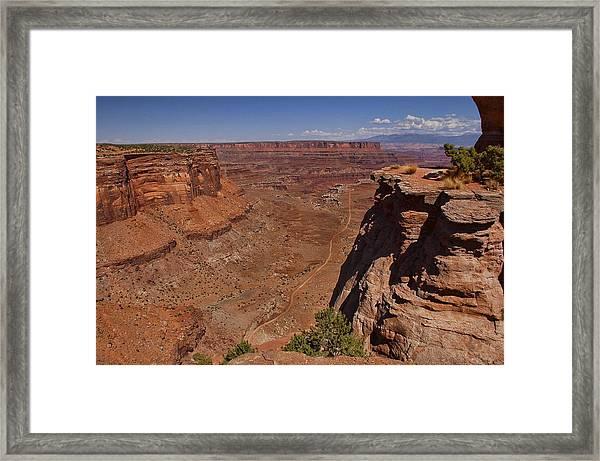 Red Rock Vista Framed Print by Nick Roberts