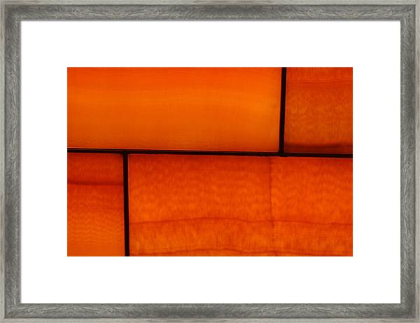 Red Stone 1 Framed Print