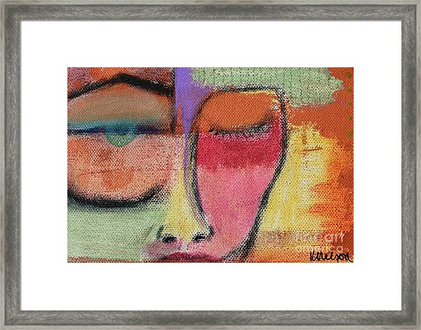 Red Wisdom Framed Print