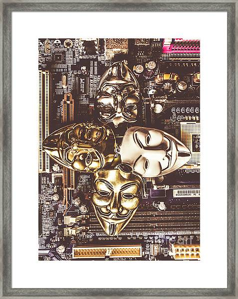 Redesigning The Power Systems Framed Print