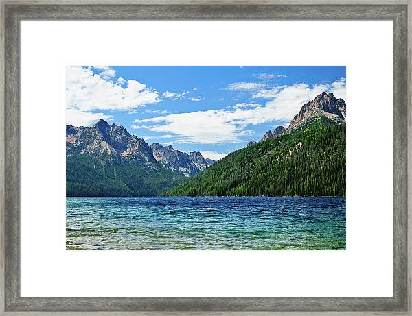 Redfish Lake Framed Print