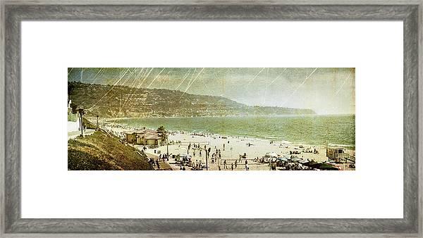 Redondo Beach La Framed Print