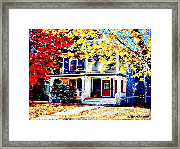 Reds And Yellows Framed Print