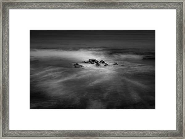 Reef In A Minor Key Framed Print by Joseph Smith