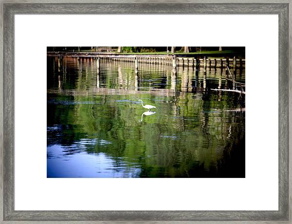 Reflecting Grace Framed Print