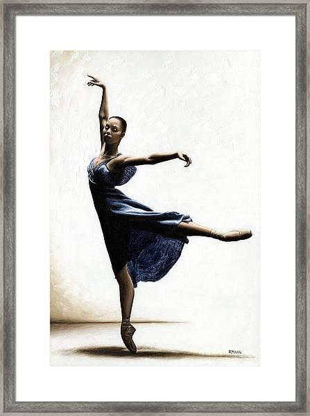 Refined Grace Framed Print
