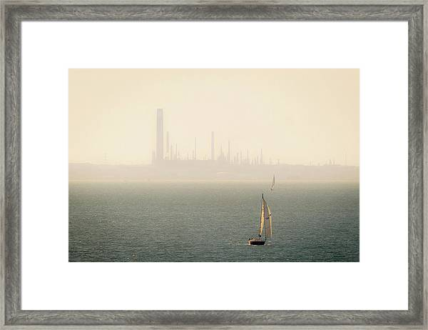 Refined Mists Framed Print