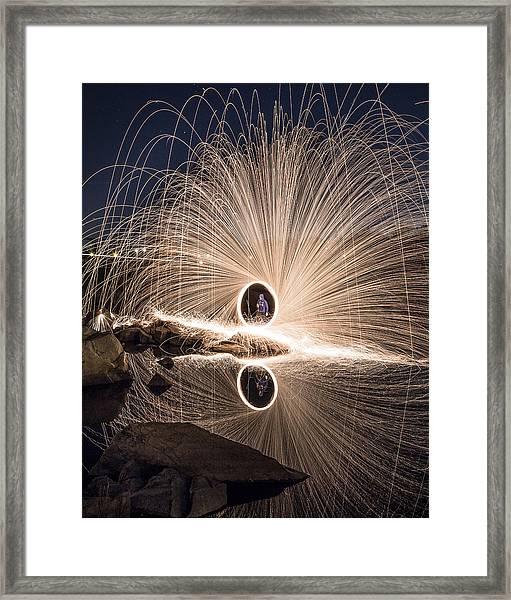 Reflect Framed Print