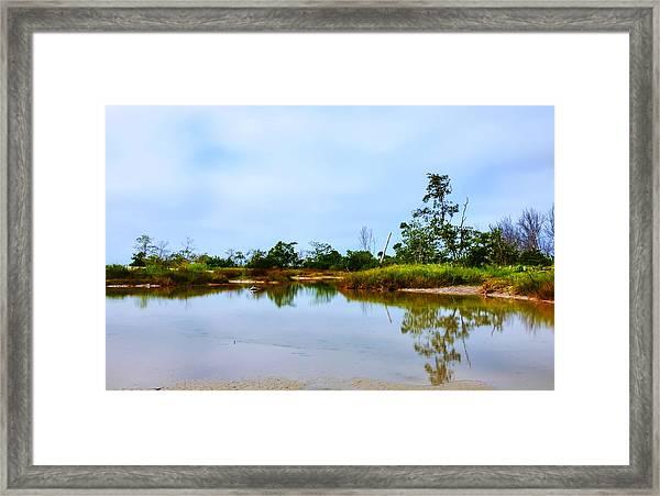 Englewood Beach Framed Print