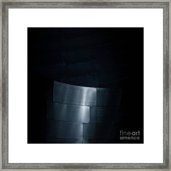 Reflecting On Gehry Framed Print