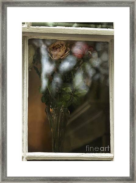 Reflecting On My Love Framed Print