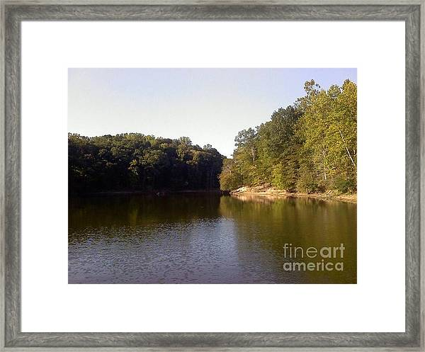 Reflecting Water Framed Print