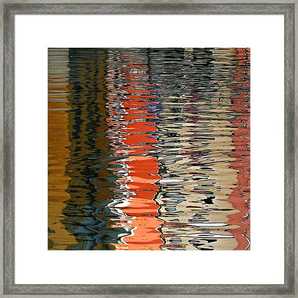 Reflection Abstract 1 Framed Print