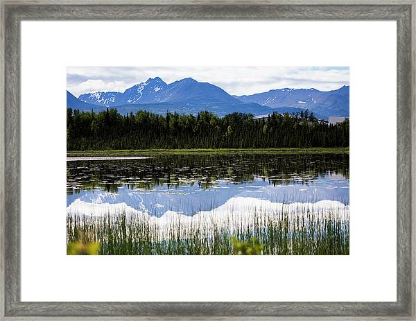 Reflection Lake Framed Print