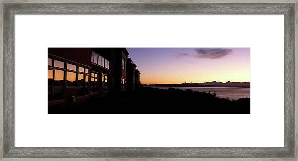 Reflection On A Summer's Eve Framed Print