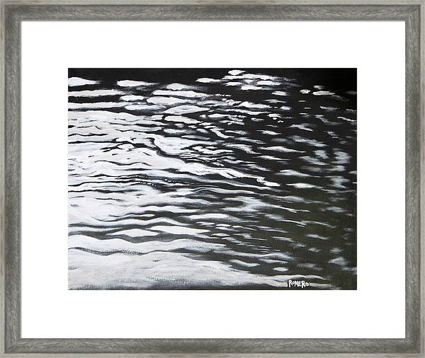 Framed Print featuring the painting Reflections by Antonio Romero